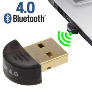 Adaptador USB Bluetooth 2.0 Dongle Para Computador e Notebook