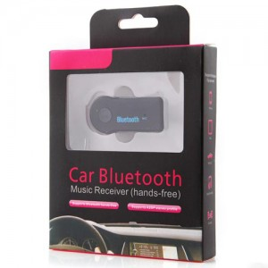 Adaptador Bluetooth P2 Carro e Som Musica Celular Android IOS